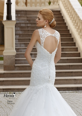 Herm's Bridal Diest-with-staps